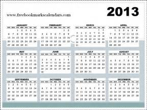 Calendar Templates 2013 by Free Printable Calendars 2016 Horizontal 2013 Calendar