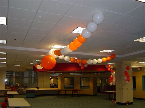 home depot hq balloon cieling decor balloonacy atlanta