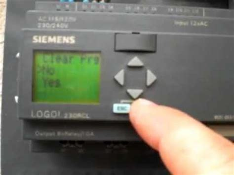 siemens logo coding how to program siemens logo