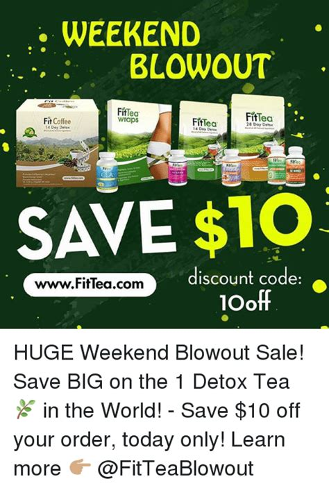 Detox The World by Weekend Blowout Fittea Wraps Fittea Fit Coffee Fiftea 14