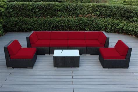 outdoor sectional sofa canada ohana collection 7pc sunbrella outdoor sectional sofa set