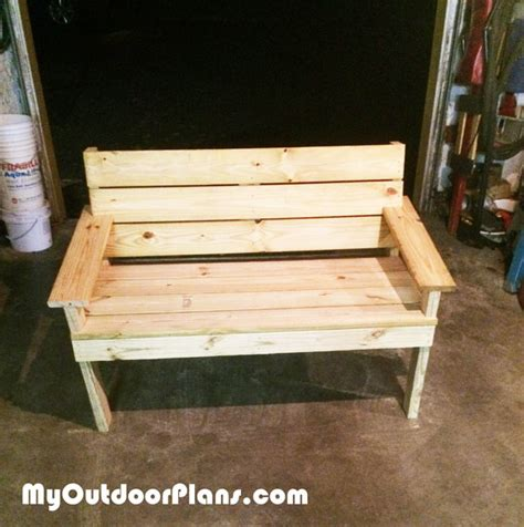 diy park bench plans diy park bench myoutdoorplans free woodworking plans and projects diy shed