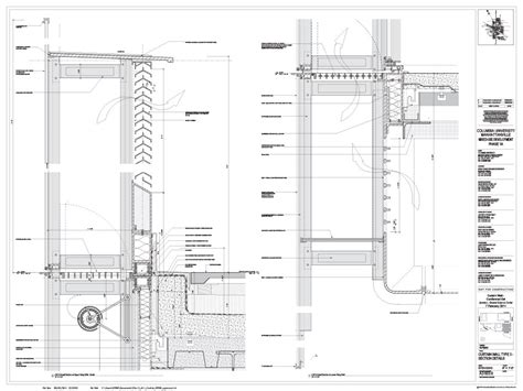 A2 503 6 CURTAIN WALL TYPE 3 SECTION DETAILS   Archpaper