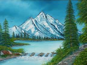 Easy mountain landscape paintings newyorkutazas info