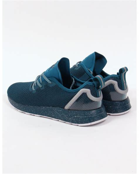 adidas zx racer adidas zx flux racer asym trainers serpent blue runners