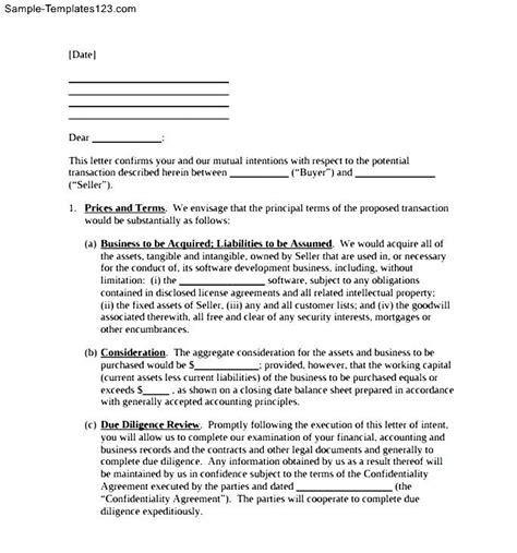 letter of intent power purchase agreement national