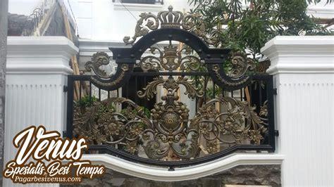 Harga Pagar Besi Tempa, Pintu Gerbang Klasik Besi Tempa