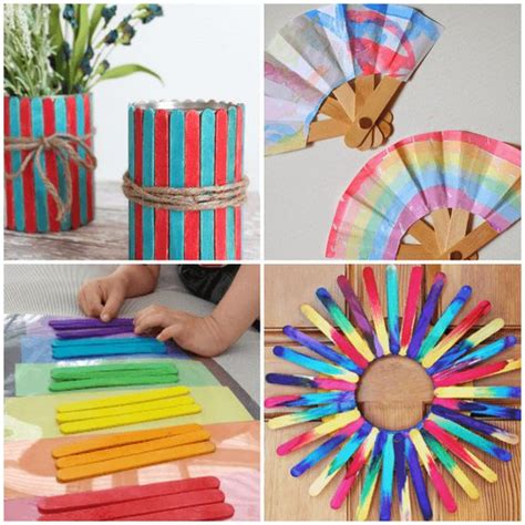 popsicle crafts projects creative popsicles and craft sticks on