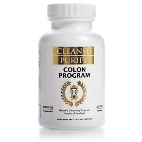 Colon Cleansing Detox Program by Whole Colon Program Herbs Can Cleanse