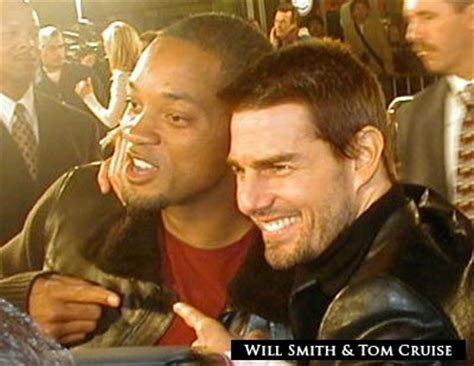 Tom Cruise Gives Will Smith An Award by Will Smith Wants To Team Up With Tom Cruise In Future
