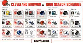 cleveland browns home schedule 2016 schedule cleveland is eastern time zone in great