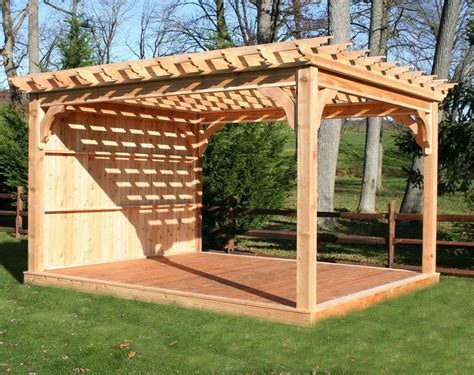 wood pergola kits lowes boisholz chsbahrain com