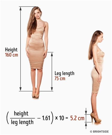 ideal picture height 3 ways of finding the ideal heel height to avoid foot pain