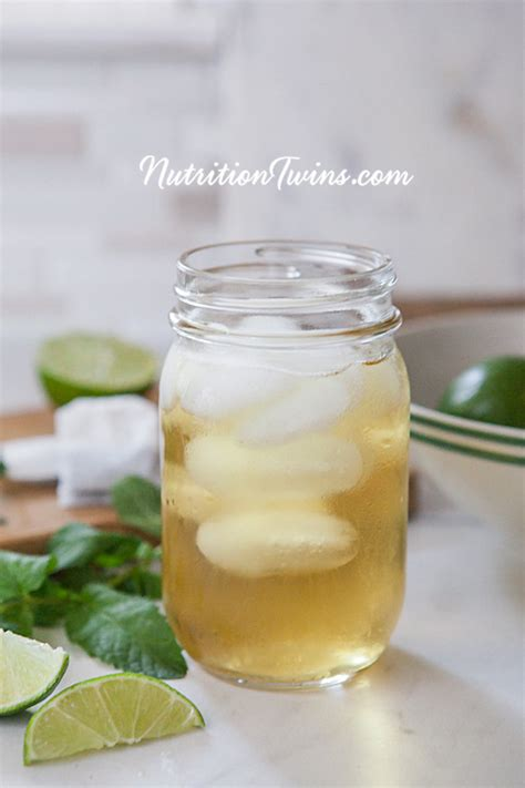 Is Green Tea A Detox Drink by Green Tea Mint And Lime Detox