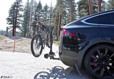 Tesla Bike Tesla Removes Model X Factory Installed Accessory Hitch