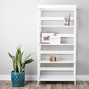 overstock white bookcase how to decorate shelves bookcases overstock