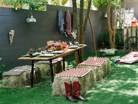 back yard barbque christmas 30 diy outdoor ideas and entertaining tips diy network made remade diy