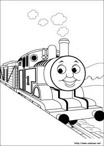 free coloring pages simple thomas tank engine