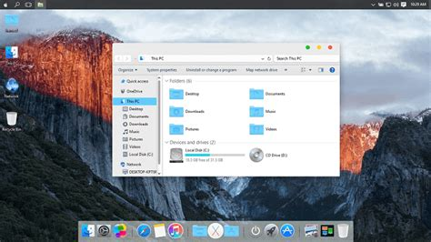 theme mac sur windows 10 8 th 232 mes gratuits pour windows 10 justgeek