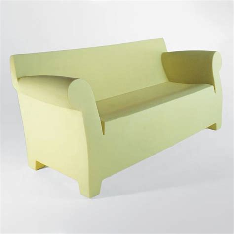 plastic on the couch kartell bubble club sofa contemporary sofa plastic