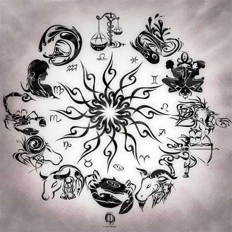 astrological sign tattoos zodiac tattoos and designs page 39
