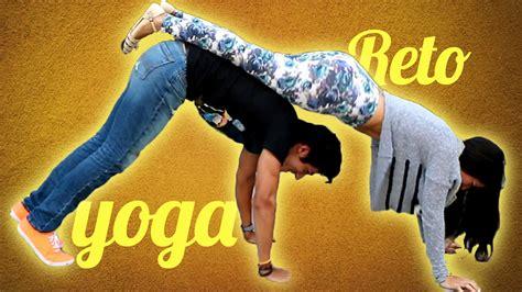 imágenes de yoga con dos personas yoga challenge reto polinesio youtube