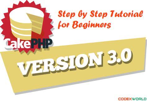 codeigniter tutorial for beginners codexworld cakephp 3 x tutorial for beginners codexworld