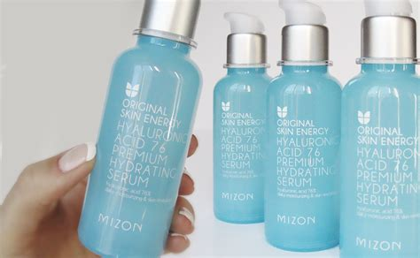 Serum Korea review mizon original skin energy hyaluronic acid 76