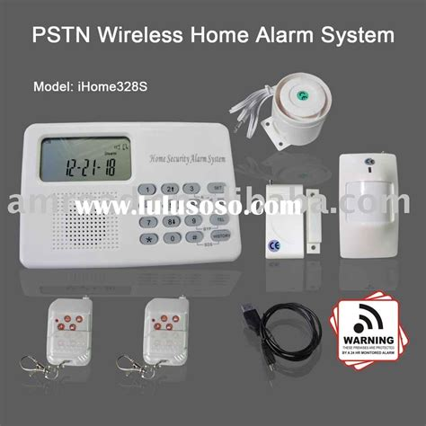 ihome328 pstn wireless home office security alarm system w