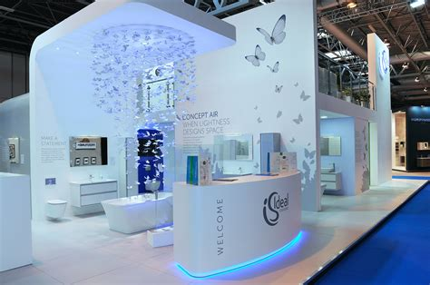 Finished Bathroom Ideas by How To Build An Exhibition Stand See Ford Mmp Build A One