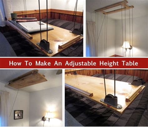 diy adjustable height table diy adjustable height table homestead survival