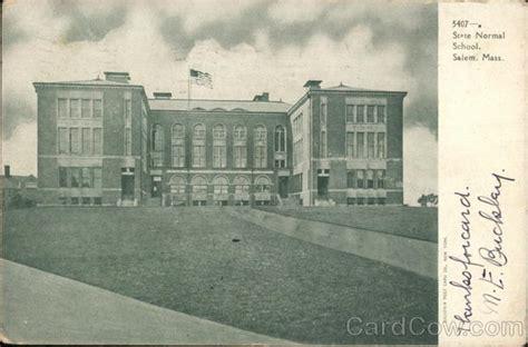 state normal school salem ma postcard