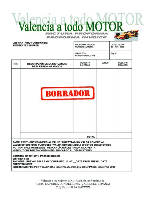 modelo de factura comercial modelo de factura comercial newhairstylesformen2014 com