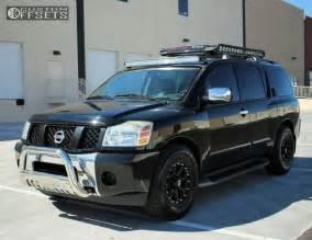 Nissan Armada Wheels Wheel Offset 2005 Nissan Armada Slightly Aggressive Stock