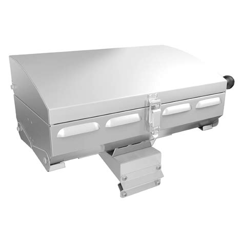 napoleon boat grill napoleon portable stainless steel marine grill ptss165p