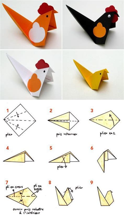 Origami Chicken Easy - 18 best images about lunar new year 2018 on