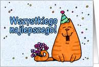 polish birthday cards from greeting card universe