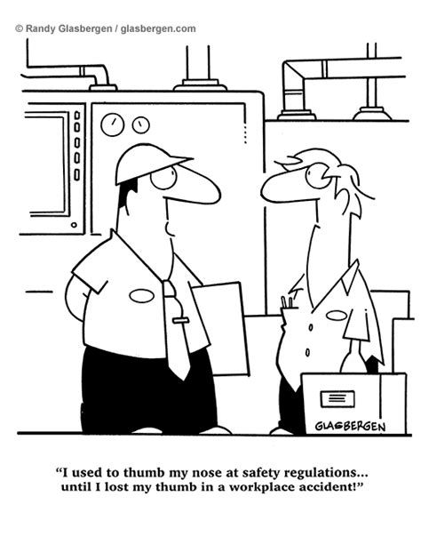 Cartoons About Workplace Safety and Injury Prevention