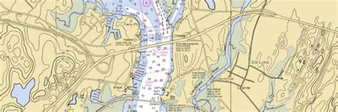 thames river depth map old saybrook ferry point connecticut