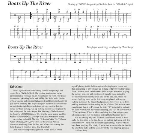 boat on the river chords boat s up the river tab chuckjo s photos banjo hangout