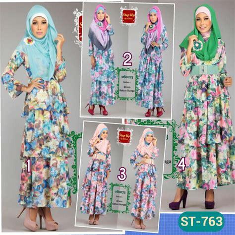 St Bunga Panjang cantik fashion butiq