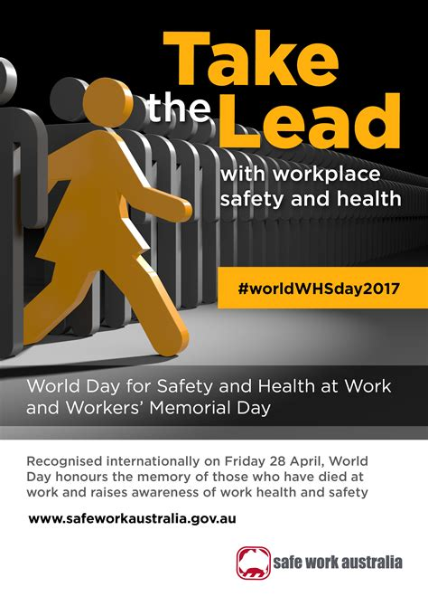 and for world day for safety and health at work and workers