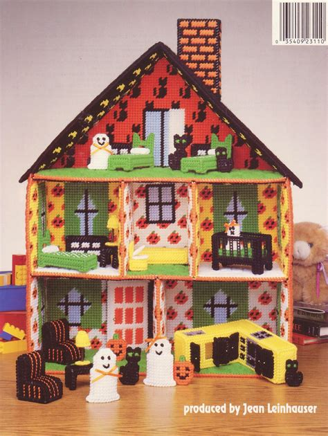 the haunted dollhouse book haunted dollhouse plastic canvas patterns and 50 similar items