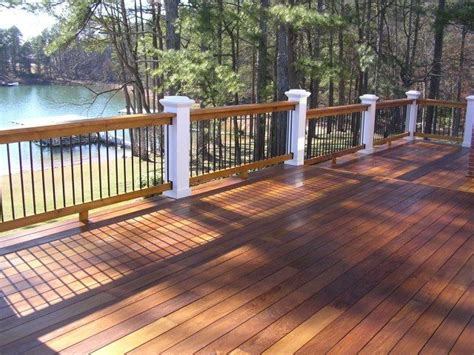 deck color 25 best ideas about stained decks on deck