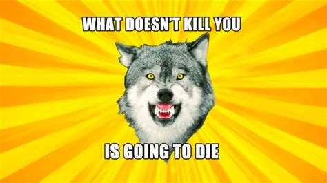 Courage Wolf Meme - courage wolf know your meme