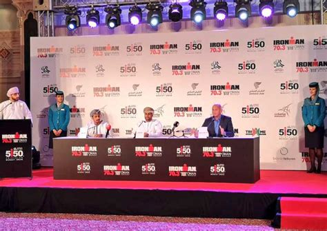 oman air signed official carrier ironman