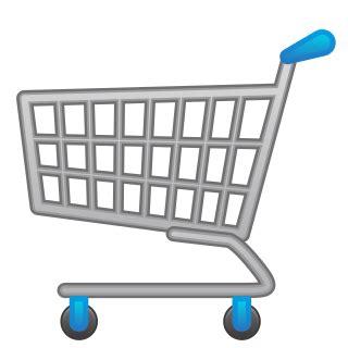 shopping bag transparent emoji shopping trolley emojidex custom emoji service and apps