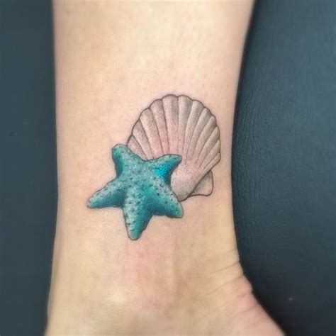 seashell tattoo meaning this starfish is gonna be a fishy tattoos