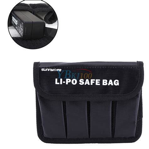 Dji Osmo Mobile Black 1 Battery 1pc lipo battery safe bag pouch resistant protector