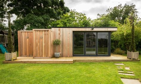 Kitchens Extensions Designs garden room with sauna extension contemporary garden